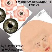 LM DREAM RESOURCE  2 for V4 2D luciferino