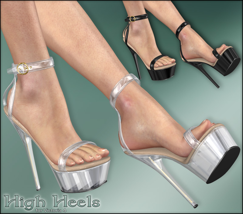HighHeel Shoes for V4