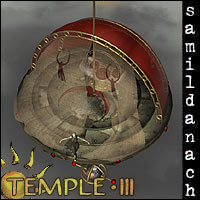 Temple 3 - set for POSER 3D Models _samildanach_