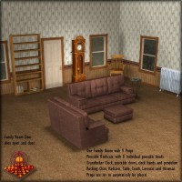 IS Family Room Props/Scenes/Architecture SAMS3D