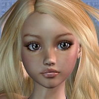 Salome for Aiko 3 3D Figure Assets Thorne