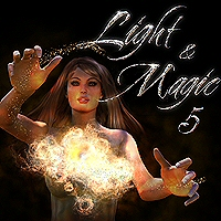 Light & Magic 5  2D 3D Models designfera