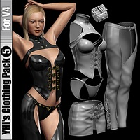YHI's Clothing Pack 5 For V4 3D Figure Essentials idler168