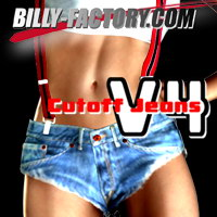 Cutoff Jeans Set for V4 3D Figure Assets billy-t
