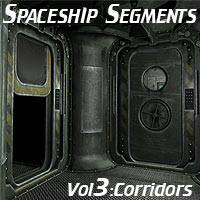Spaceship Segments Vol3 3D Models coflek-gnorg