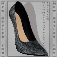 New Styles for High Heel Pumps For V4 by AranelStyles
