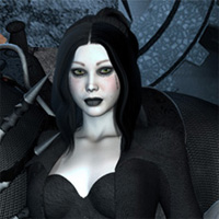 Faith: Goth Girl 3D Figure Essentials kaleya