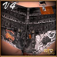 Naughty or Nice for V4 Cutoff Jeans by billy-t  3D Figure Essentials 3D Models renapd