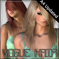 Vogue Hair 3D Figure Assets outoftouch