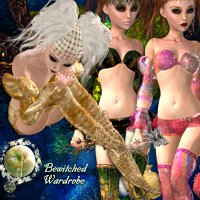 "FEISTY's BEWITCHED Wardrobe for Elfdance ""Charmed""  nirvy"