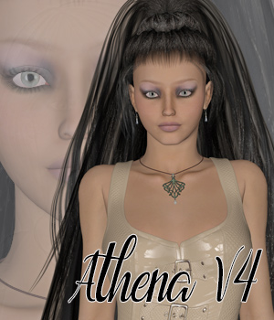 Athena for V4 3D Figure Assets Makena