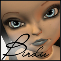 Birdie for Ball Joint Doll   -Wolfie-