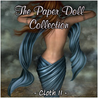 The Paper Doll Collection - Cloth II 2D 3D Figure Essentials Rhiannon