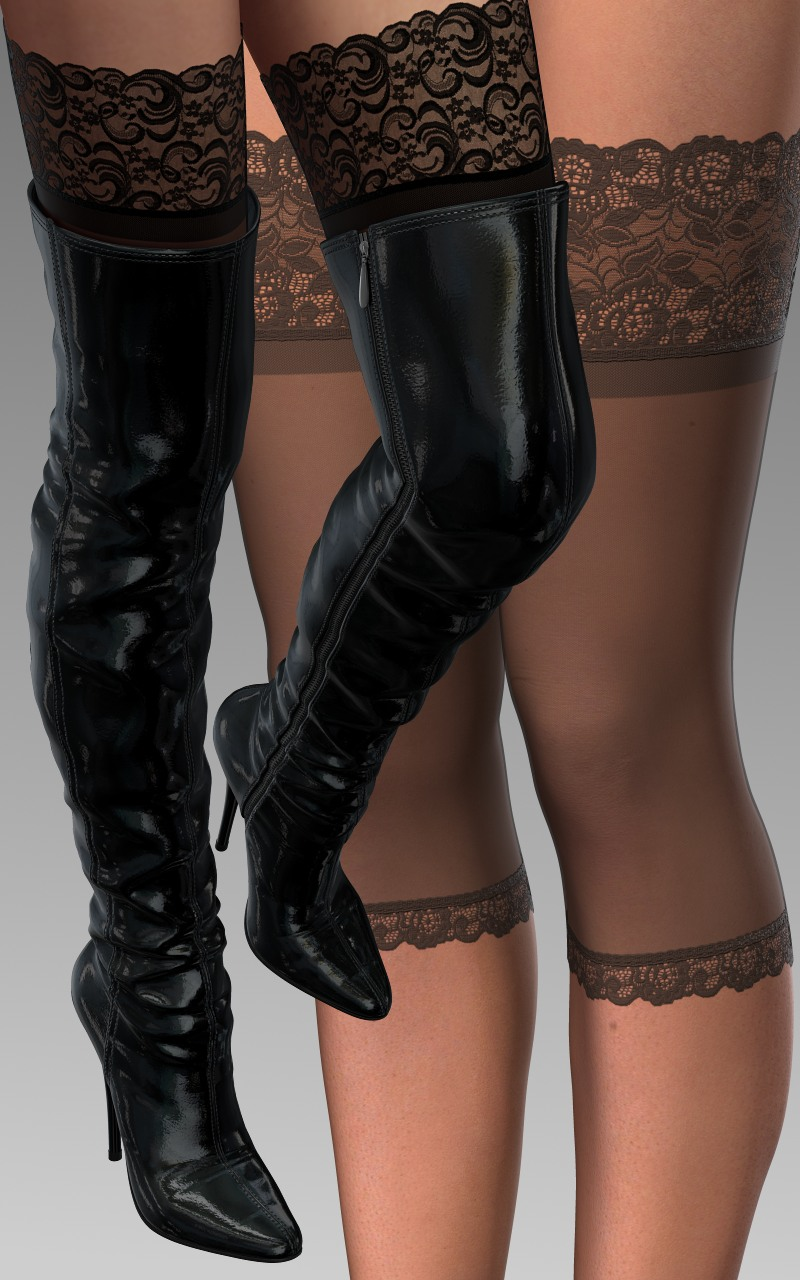 Thigh-Boot For V4