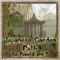 Japanese Garden Path   Software 3D Models vikike176