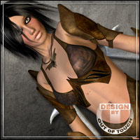 °Muse of Magic° for Sorceress Armor for V4 by Xurge3D  outoftouch