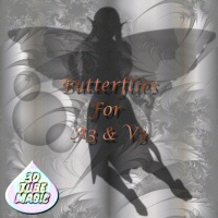 Butterflies for A3 and V3 3D Figure Assets 3DTubeMagic