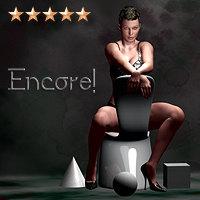 Encore - Lights and Magic for Poser 7 3D Models Software SaintFox