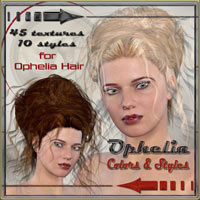 Ophelia Colors and Styles for Ophelia Hair   ilona