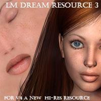 LM DREAM RESOURCE  3 for V4 2D Graphics luciferino