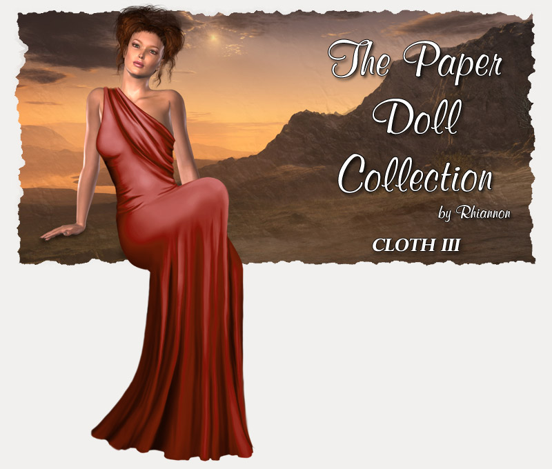 The Paper Doll Collection - Cloth III