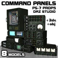Command Panels 3D Models coflek-gnorg