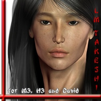 LM TAKESHI for M3/D3/H3 by luciferino