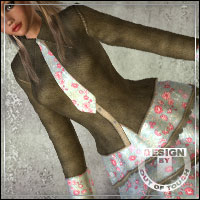 °Spring Hearted° Textures for Flare Line Skirt by kobamax  outoftouch