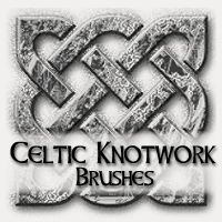 Celtic Knotwork Brushes by Kendra