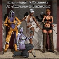 Drow - Light & Darkness 3D Figure Assets 3D Models greyson5