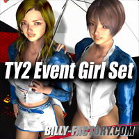 TY2 Eventgirl Set  by billy-t