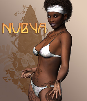 Nubya for V4 3D Figure Essentials 3D Models SaintFox
