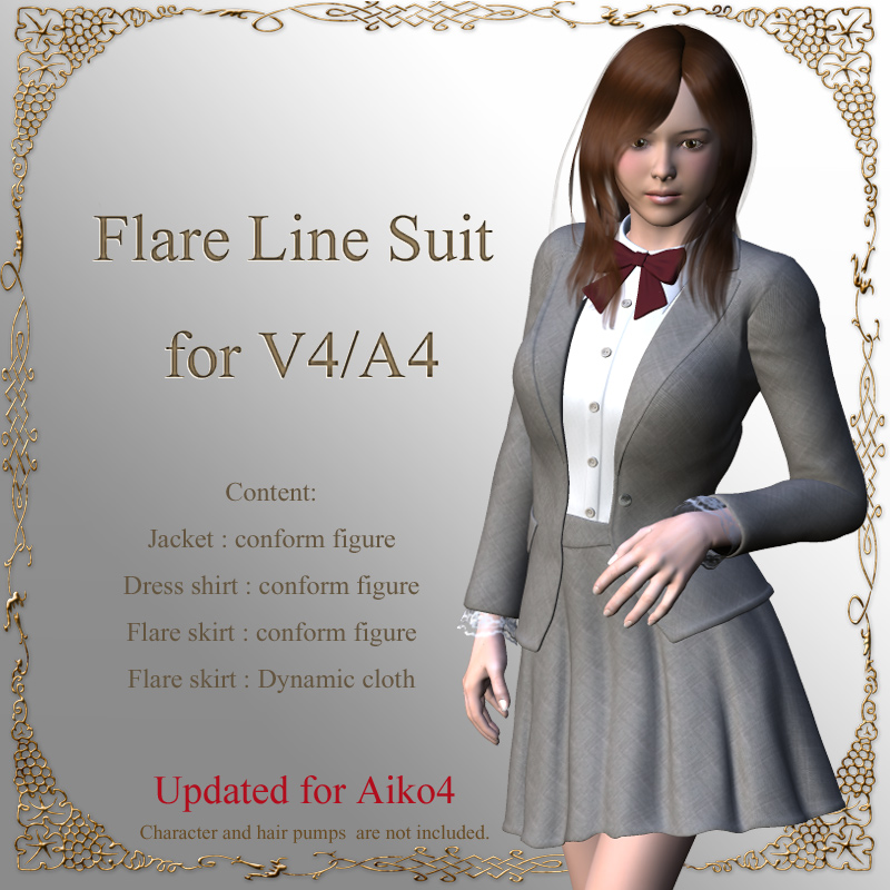 Flare Line Suit for V4/A4 by kobamax