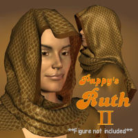 Pappy's Ruth II 3D Models 3D Figure Essentials pappy411