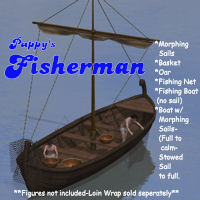 Pappy's Fisherman 3D Models pappy411