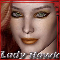 Lady Hawk for V4  ilona