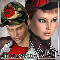 Rouven Hair XPansion  outoftouch