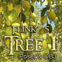 Flinks Tree 1 Themed Props/Scenes/Architecture Flink