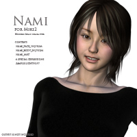 Nami for Miki2 3D Figure Essentials kobamax