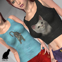 +Kitty Casuals+ for Classic Casual for V4  kaleya