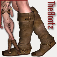 The Bootz 3D Figure Assets RPublishing