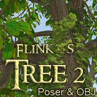Flinks Tree2 Props/Scenes/Architecture Themed Flink