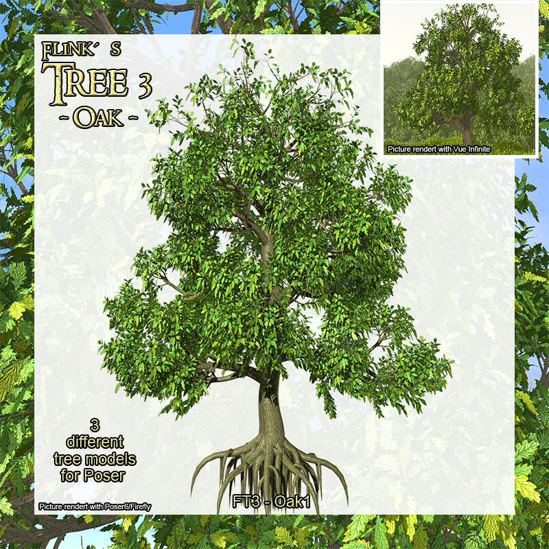 Flinks Tree 3 - Oak