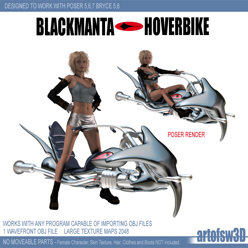 BlackMantaHoverBike