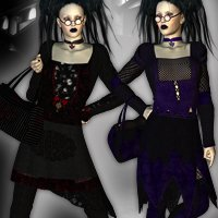 Goth Revival for Bolero Set A3 & V4 by Kobamax  nirvy