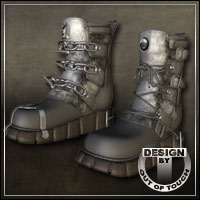 Collection: SciFi Boots for Sci-Fi Boots for V4, V3, and A3 + M3 and David 3D Figure Essentials outoftouch