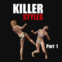 Killer styles 1 3D Figure Assets PainMD