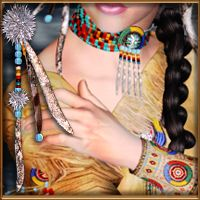 RT-V4 Native American Themed Accessories Clothing renapd