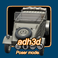 WW2 Kubelwagen 82 Themed Transportation adh3d