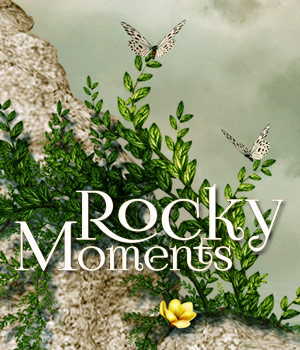 Rocky Moments 2D Graphics Bez